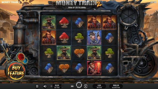 money train 2 slot review base game