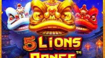 5 lions dance slot review