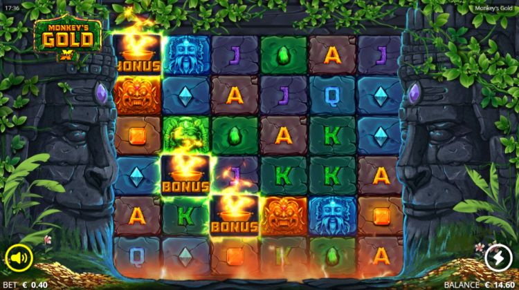 Monkeys Gold slot nolimit city bonus trigger 2