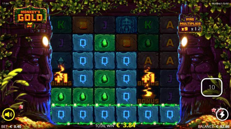 Monkeys Gold slot nolimit city retriggeer