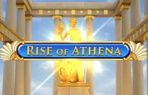 Rise of athena slot play n go logo