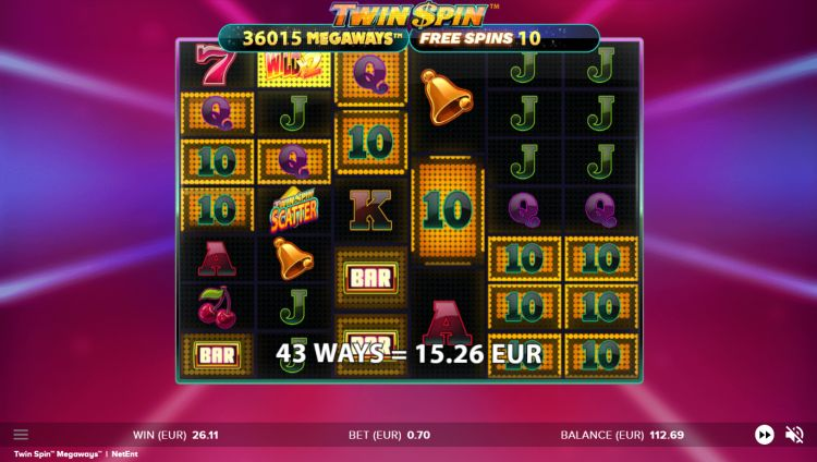 Twin Spin Megaways slot review free spins
