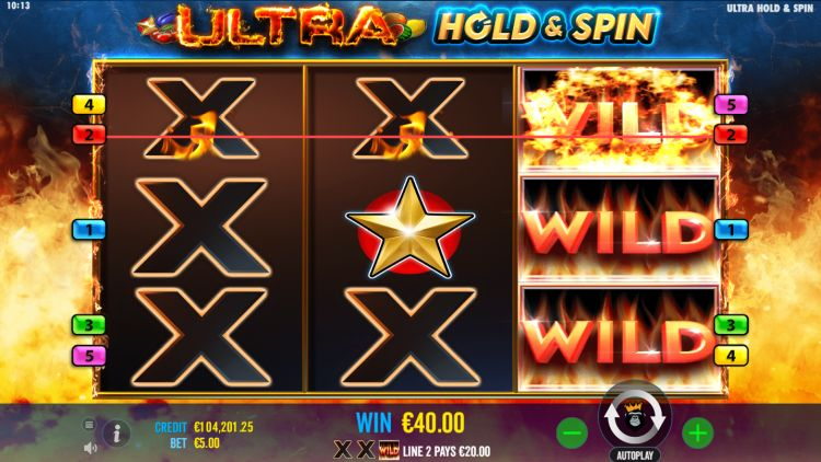 Ultra Hold and Spin slot review win