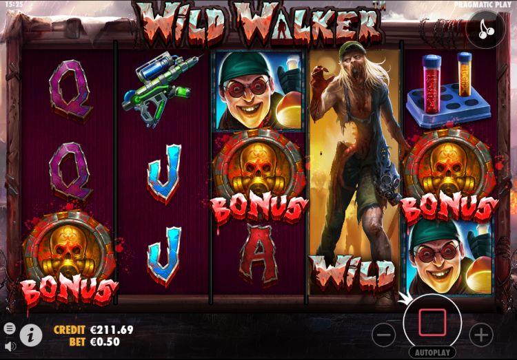 Wild walker slot review pragmatic play bonus trigger