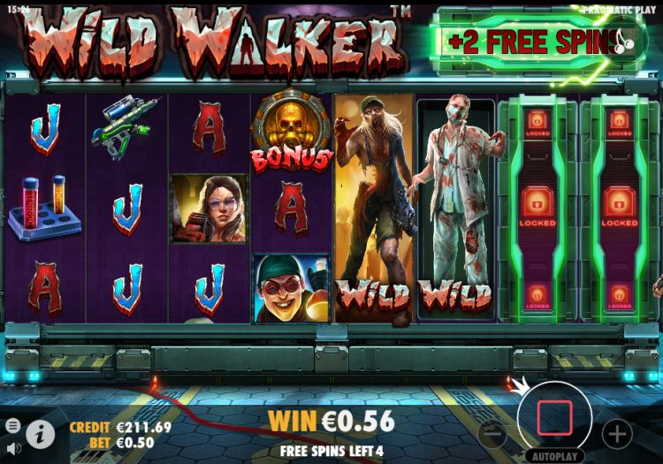 Wild walker slot review pragmatic play retrigger
