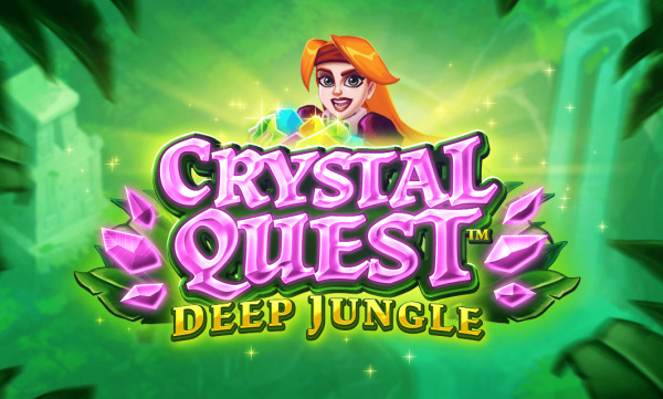 crystal-quest-deep-jungle-slot mystery logo