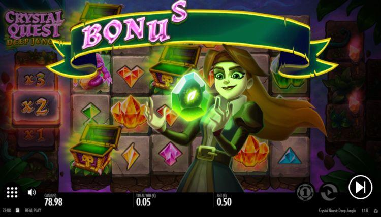 crystal-quest-deep-jungle-slot review bonus trigger