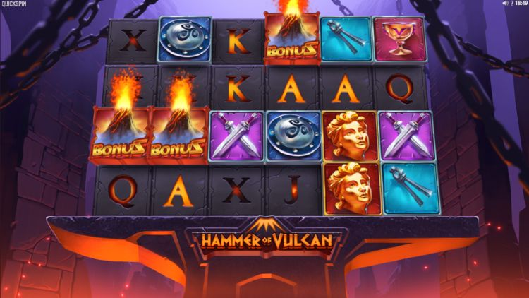 hammer-of-vulcan-slot review Quickspin bonus trigger