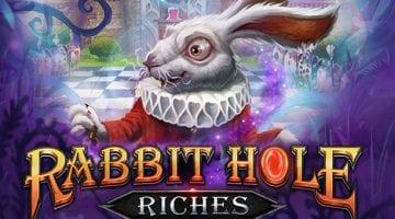 rabbit-hole-riches-slot-playngo logo