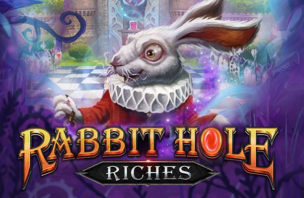 rabbit-hole-riches-slot-playngo logo