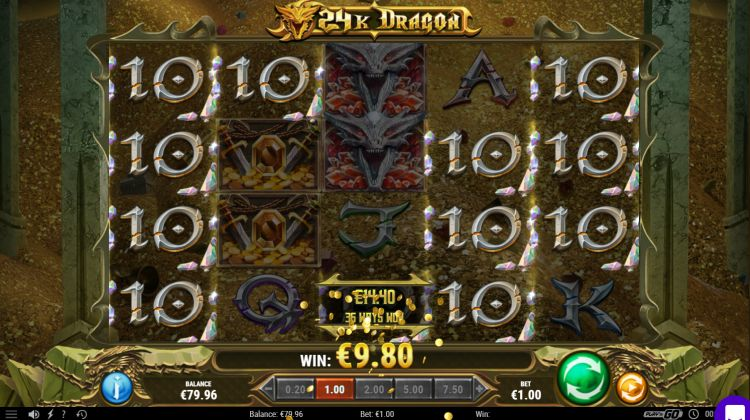 24k dragon slot review play n go