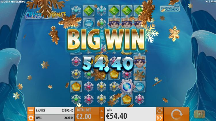 Crystal Prince slot review big win