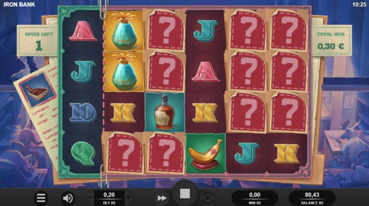 Iron Bank slot review Relax Gaming mystery win