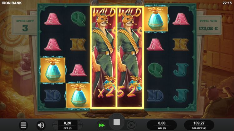 Iron Bank slot review Relax Gaming win spins