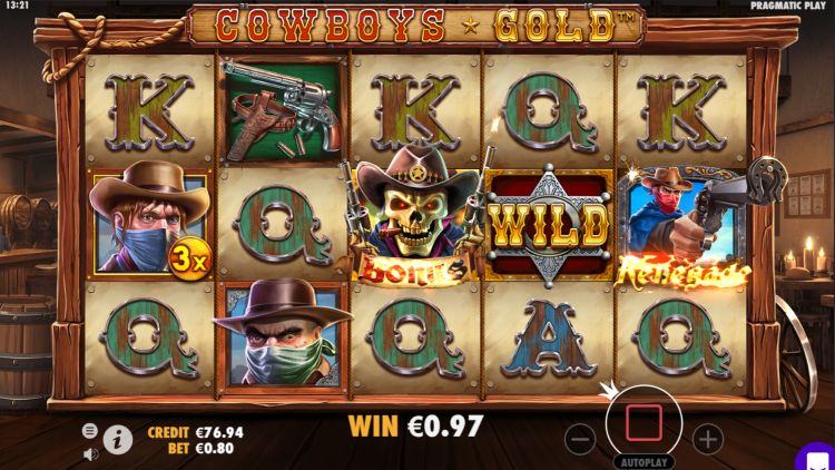 cowboys gold slot pragmatic play bonus trigger
