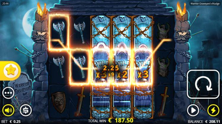 warrior graveyard xnudge slot death spins