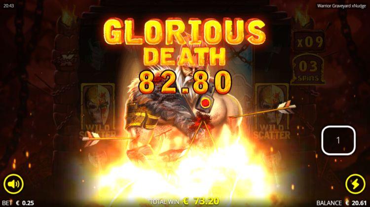 warrior graveyard xnudge slot huge win