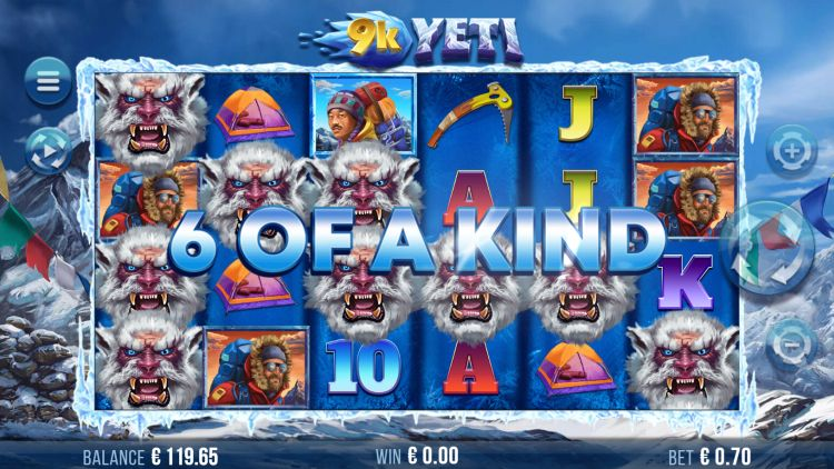 9k yeti slot review super big win 2