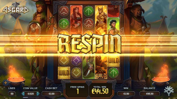 Age of Asgard free spins bonus