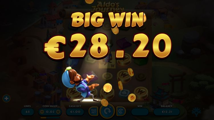 Aldo's Journey slot yggdrasil big win