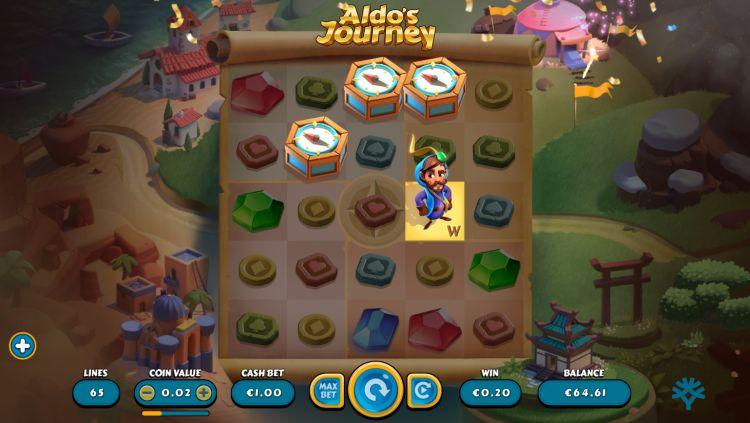 Aldo's Journey slot yggdrasil bonus trigger