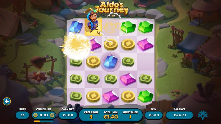 Aldo's Journey slot yggdrasil review free spins