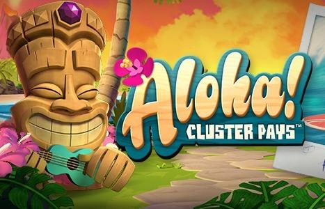 Aloha Cluster pays netent slot