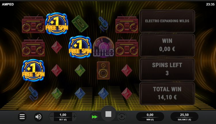 Amped slot review Relax Gaming free spins