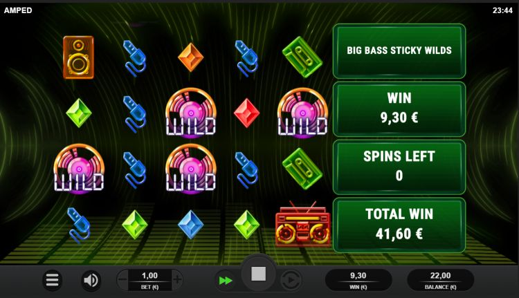 Amped slot review Relax Gaming