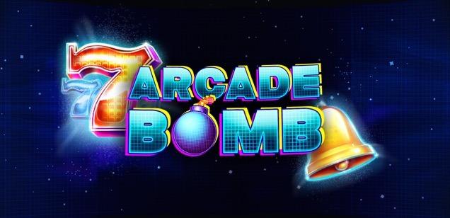 Arcade Bomb Red Tiger slot logo