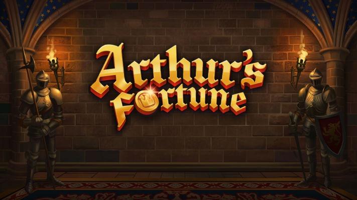 Arthurs-Fortune slot logo yggdrasil
