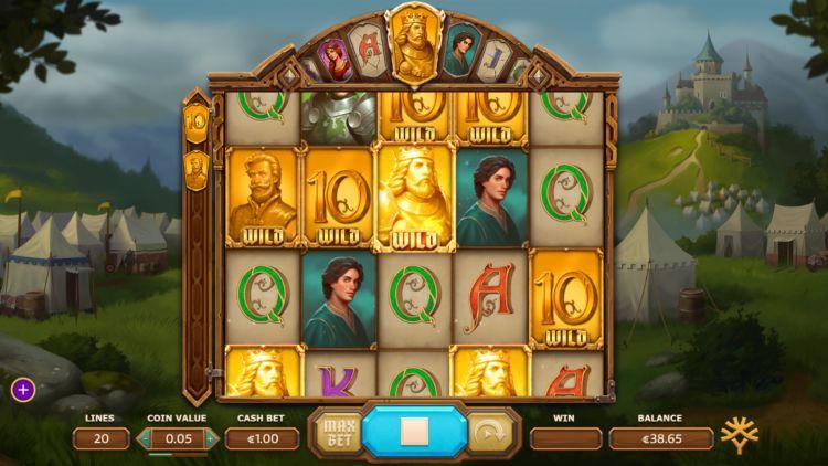 Arthur's fortune slot feature
