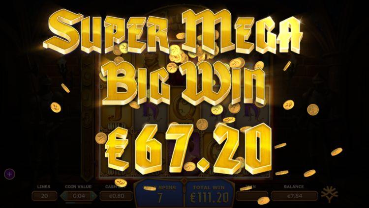 Arthur's fortune slot mega super big win