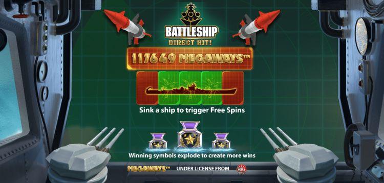 Battleship direct hit megaways review