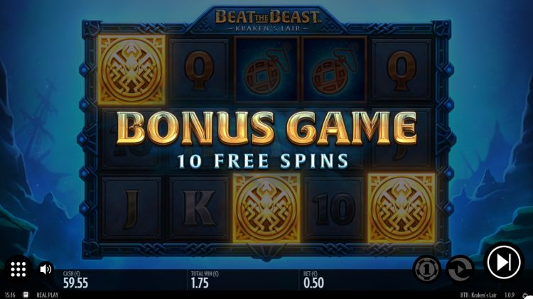 Beat the beast krakens lair slot review thunderkick