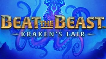 Beat the beast krakens lair slot thunderkick logo