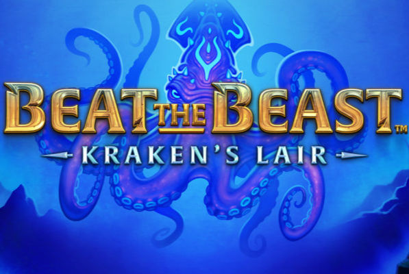 Beat the beast krakens lair slot thunderkick logo
