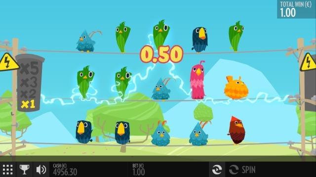 Birds on a wire screenshot