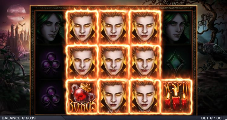 Blood Lust slot review Elk Studios respin 2