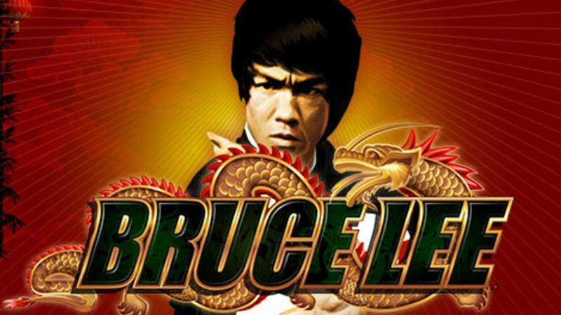 Bruce Lee slot WMS logo