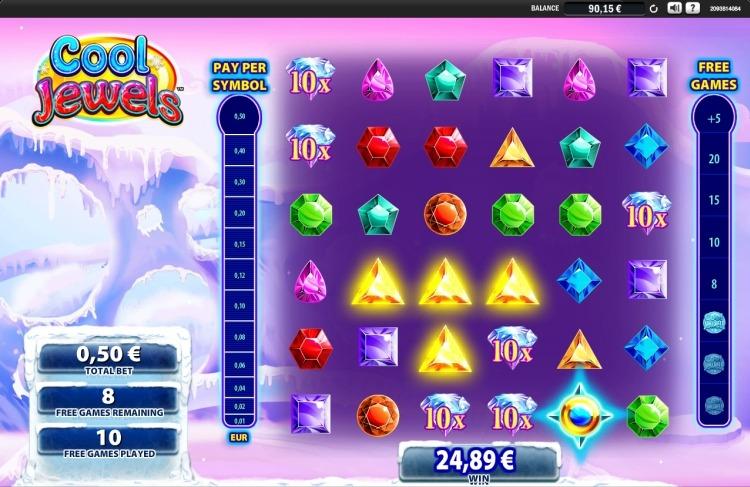 Cool Jewels slot wms bonus 2