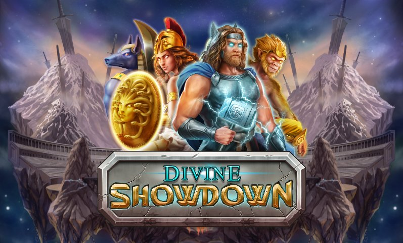 Divine-Showdown slot review logo