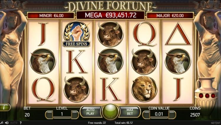 Divine-fortune-Netent-screen
