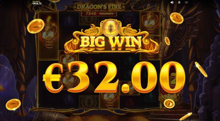 Dragon's Fire Megaways slot big win 2