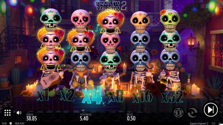 Esqueleto Explosivo 2 thunderkick win