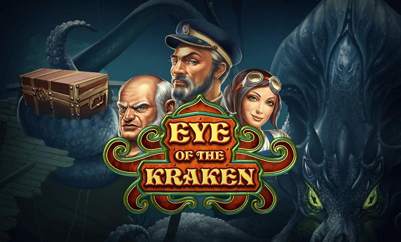 Eye of the Kraken slot play n go logo