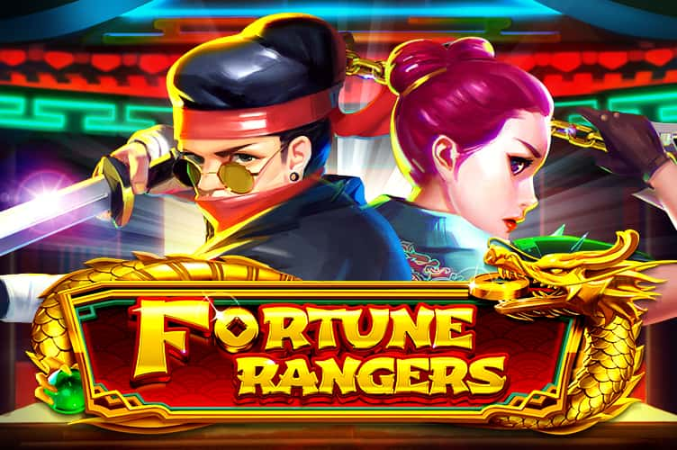 Fortune rangers slot netent logo review