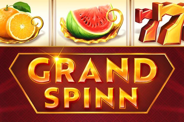 Grand Spinn slot review logo