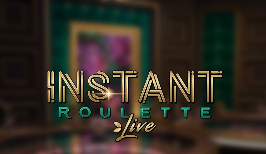 Instant-Roulette-by-Evolution-gaming logo