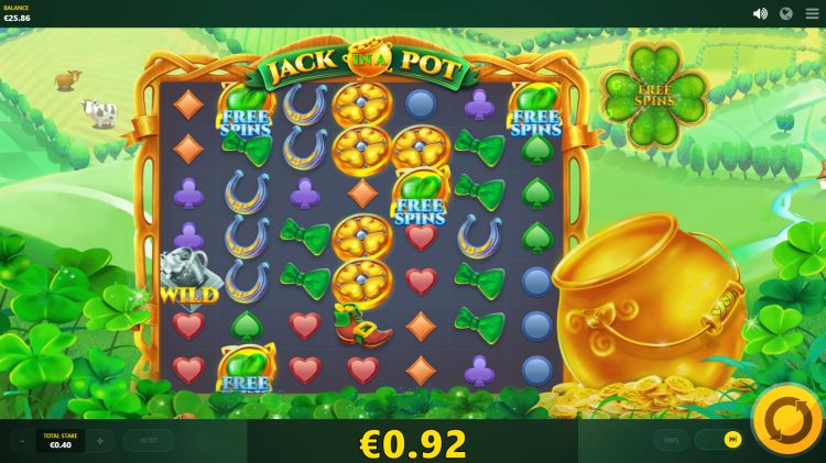 Jack in a pot red tiger slot free spins trigger